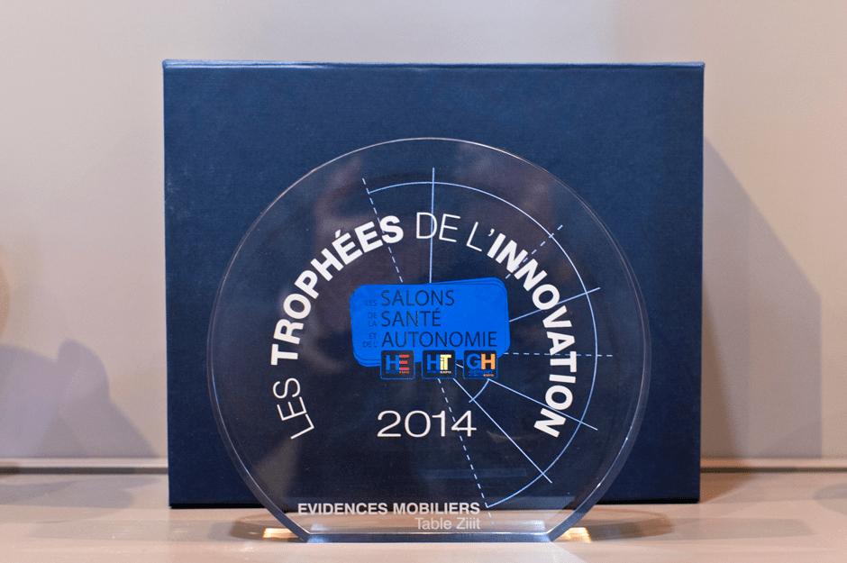 Évidences Mobiliers remporte un Trophée de l'innovation 2014